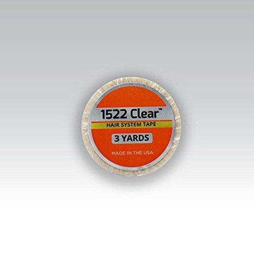 3m Clear 1522 1/2x3' Yard Roll Tape by Walker Tape -