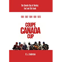 The Canada Cup of Hockey Fact and Stat Book (English Edition)
