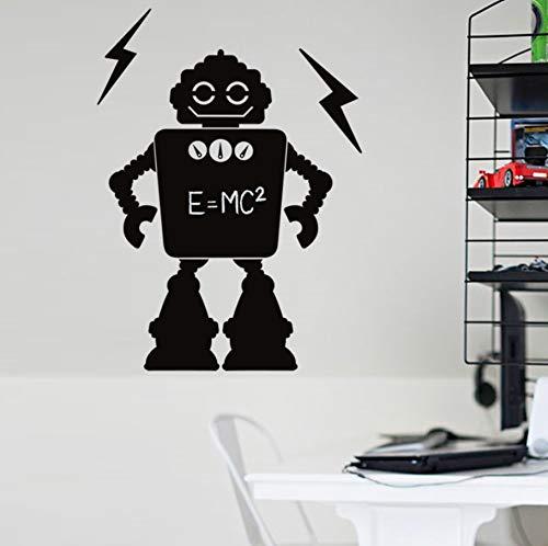 Zxfcczxf Cartoon Roboter Tafel Wandtattoo Aufkleber Kinderzimmer Kindergarten Wohnkultur Wand Applique Nachricht Memo Tafel Poster