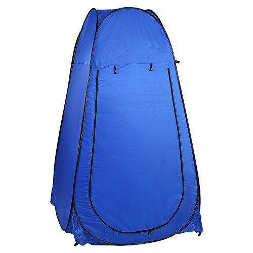 Befied Portable Zelt Pop-up Duschzelt, Umkleidezelt, Toilettenzelt, Trekkingzelt für unterwegs, Camping inkl. Tasche