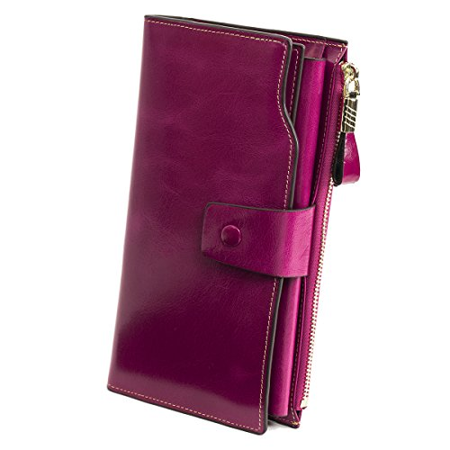 womens-soft-leather-durable-slim-wallets-long-multi-card-wallet-coin-purse-handbag-red