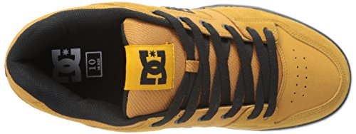 DC Shoes Pure Mens Shoe D0300660, Baskets mode homme Braun (WHEAT/BLACK - WEA)