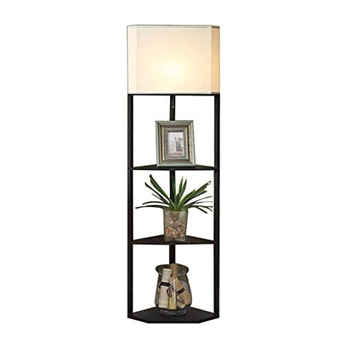 YILIAN luodideng Schwarze Eckzahnstangen-Stehlampe, vertikale vertikale Beleuchtung des kreativen chinesischen Wohnzimmerschlafzimmer-Bettsofas