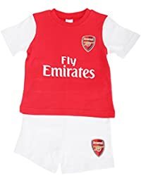 40a12a976 Arsenal FC Official Baby Football Crest T-Shirt   Shorts Set