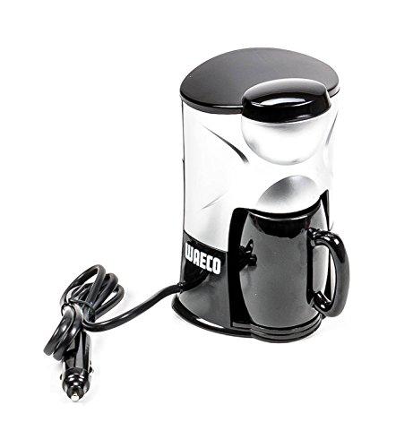 Kaffeemaschine für 1 Tasse mit Keramik-Becher, Dauerfilter, Trockenkochschutz, 150 ml, 12V/170W