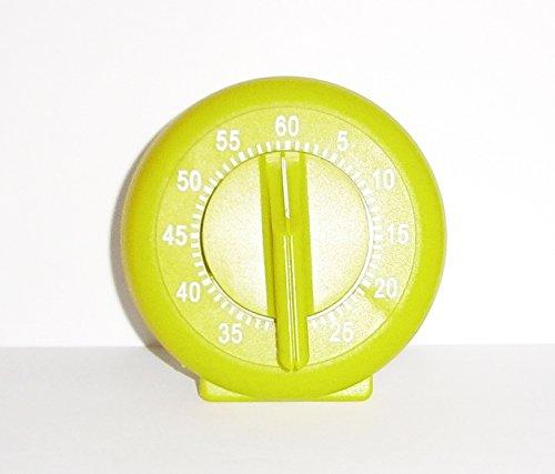 KURZZEITMESSER Uhren Eieruhr Küchentimer Küchen-Timer bis 60 min Wecker 4-Varianten 06 (Grün)