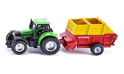 Preisvergleich Produktbild Siku 1676 - Traktor mit Pöttinger Ladewagen Fahrzeuge