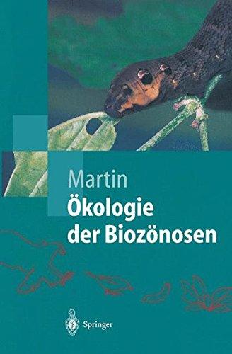 Ã-kologie der Biozönosen (Springer-Lehrbuch)