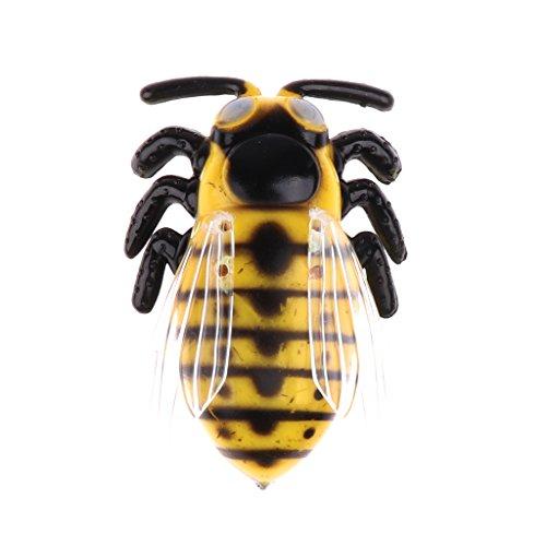 Gazechimp Insectos Cicada Escarabajo Falso Artificial Eléctrica Rastreo Vibración Juguetes de Broma Juego Truco