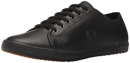 Fred Perry Kingston Leather White Black