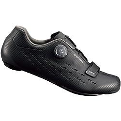 Shimano SHRP5PC430SL00 - Zapatillas ciclismo, 43, Negro, Hombre
