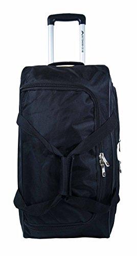 New Outdoor Gear Reisetasche mit Rollen Trolley Koffer Gepäck Reise Urlaub Tasche Medium 61cm Zoll Schwarz schwarz 61 cm (24 zoll) schwarz