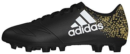 adidas Herren X 16.4 Fxg Fußballschuhe Schwarz (Core Black/Ftwr White/Gold Metallic)