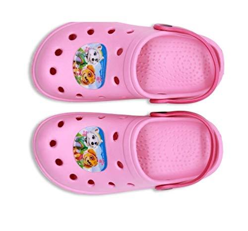 ol - Kinder Badesandalen Clogs Hausschuhe Schlappen Badeschuhe Gummi Gartenclogs Clocks Pantoletten Schuhe Indoor/Outdoor (25/26) ()