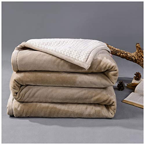 Decke Super Weiche Baumwolle Kaschmir Häkeln Sofa Abdeckung Decke Winter Bett Bettwäsche Warme Weiche quilt Bett Wirft(L:150,180,200CM W:200,230CM) Bettwäsche ( Color : C , Size : 180X200CM ) -