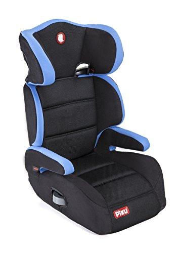 Piku 6227 – seggiolino auto, gruppo 2/3, 15-36 kg, 3-12 anni, colore blu/nero, senza isofix