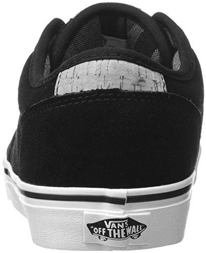 Vans Atwood Deluxe, Baskets Basses Homme Suede Noir (Beige/Marshmallow)