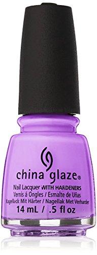 China Glaze Nagellack - Let's Jam (Neon Light Purple Shimmer) (China Nagellack)