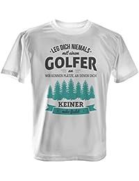 Außergewöhnlich Leg Dich Niemals Mit Einem Golfer An   Herren T Shirt Von Fashionalarm | Fun