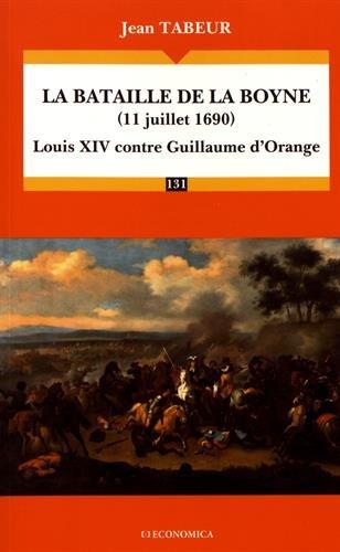 La bataille de la Boyne par Jean Tabeur