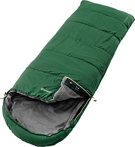 Outwell Campion Lux Green Schlafsack, grün, One Size