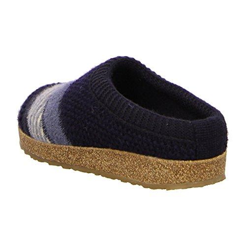 Haflinger 711051 70, Pantofole donna Blu (Blu)