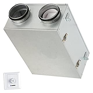 Heat Recovery Ventilation Fan DIY Unit Extract Condensation Stale & Moist Air - Recover Lost Energy & Filter Fresh Air To House Flat Apartment