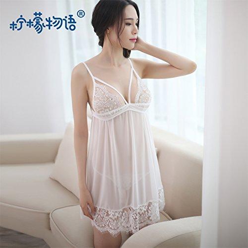 Roleeplay sexy Dessous Brustgurt Spitze Nachthemd Extreme Leckage Super Sexy Korsett Wimpern Gaze Schlafanzug Sm Leidenschaft, F (Brustgurt Deluxe)