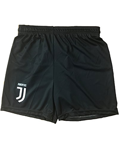 Pantalone Juventus Pantaloncini Nuovo Logo Replica Autorizzata Bambino Adulto 2017-2018, 6 Anni