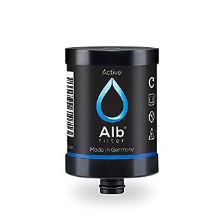 Alb Filter Active Trinkwasserfilter Ersatzkartusche reduziert Schadstoffe, Schwermetalle, Mikro-Plastik. Made in Germany
