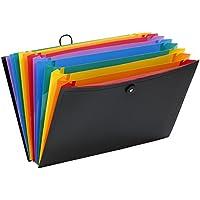 Viquel Rainbow Class - Trieur accordéon de bureau - Porte document 12 positions - Organisateur de bureau extensible…