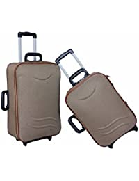 "UNIVERSAL TRAVELLER BAG REPUTABLE-SET OF 2 BAGS (BADGE) 24""+20"""