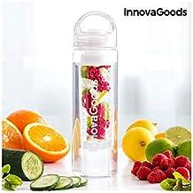 InnovaGoods IG116769 Botella con Filtro para Infusiones, Unisex Adulto, Transparente, Talla Única