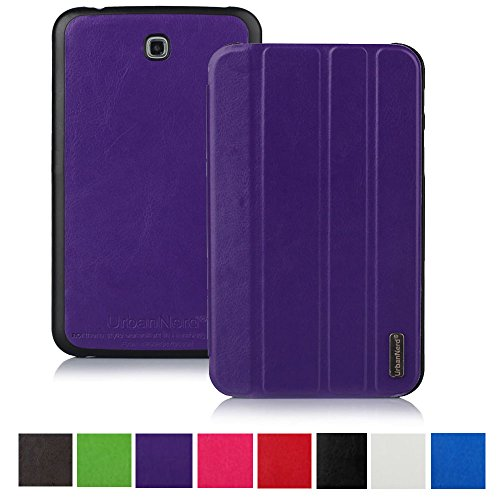 Smart Hülle für Samsung P5200 Galaxy Tab 3 7 Zoll - Tablettasche Tasche Cover Case Etui Schutzhülle in Lila (Galaxy Tab 3 7 Zoll Cover)
