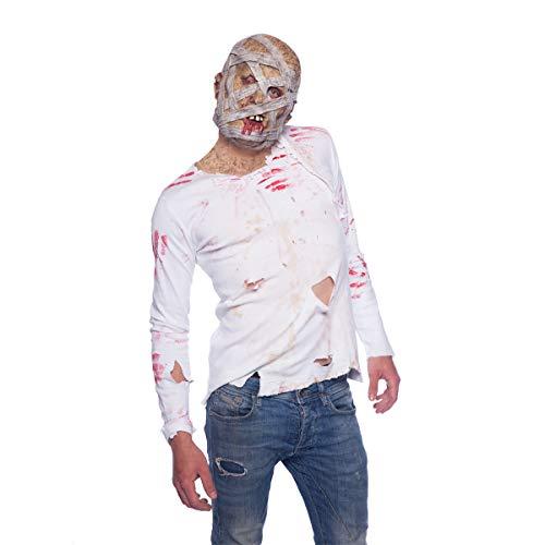 ween Maske ''Mumie'' | Halloween Kostüm | Accessoire ()