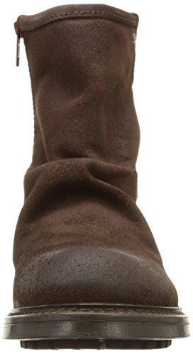Base London - Bullit, Stivali Da Motociclista da uomo Marrone (greasy suede brown)