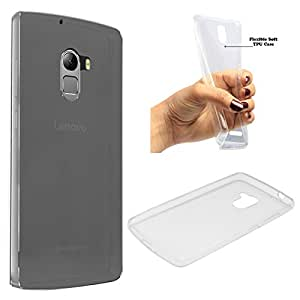 DMG Ultra Thin Soft Touch, Slim Fit Transparent TPU Back Cover Case for Lenovo K4 Note (Transparent)