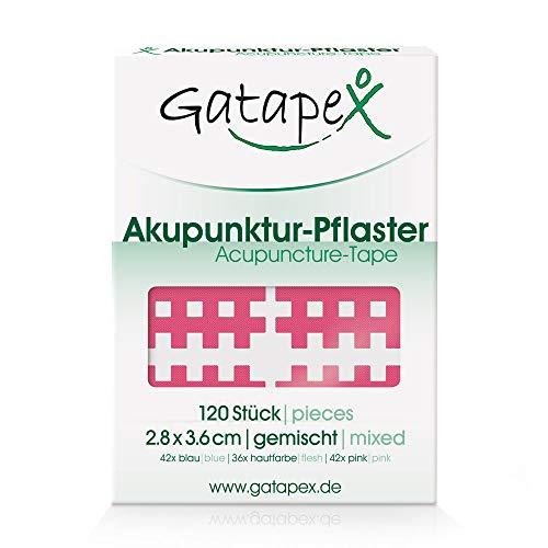 Gatapex Gitter Akupunktur-Pflaster (Größe M) pink
