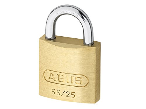 Abus - 55/25 25mm Messing Vorhängeschloss Carded - ABU5525C
