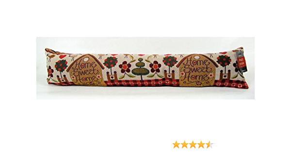 Beamfeature Home Sweet Home Grey Draught Excluder Window Door Draught Excluder