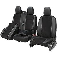 Autositzbezüge Ford Tourneo Custom VII ab 13 9-Sitzer Schwarz Schonbezug Bezug