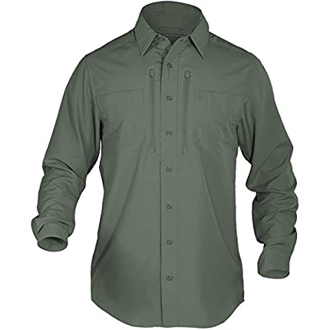 5.11 Men's Traverse Shirt Long Sleeve Sage Green size