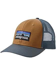 Patagonia P-6 Logo Trucker Hat Größe one size bear brown