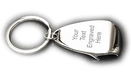 Personalisierter Klauen-Flaschenöffner-Schlüsselanhänger