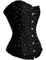 lffw brillante Rhinestone corsé con plisado Encaje/New lencería ropa interior Vasco