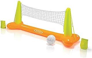 INTEX Pool Game – Jeu de Ballon Gonflable – Filet de Volley-Ball