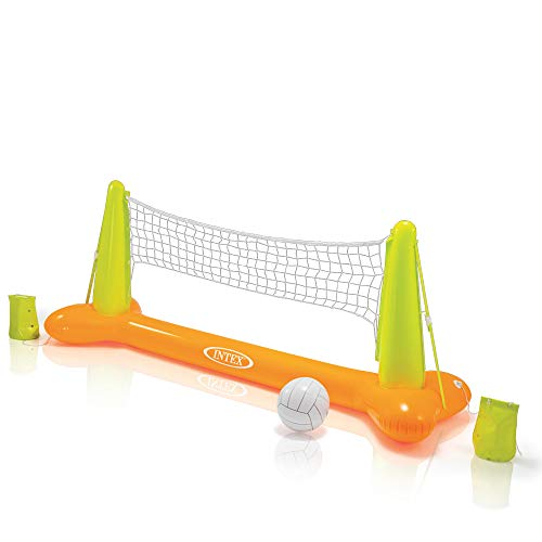 Intex Pool Volleybal Game - Aufblasbares Wasserballspiel - Volleyballnetz - 239 x 64 x 91 cm - Gewicht Olympische Set 7