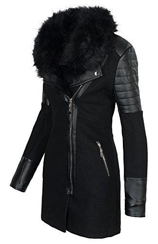 Golden Brands Selection - Blouson - Manches Longues - Femme noir/noir