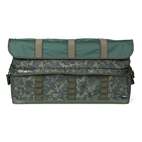 Shimano tribal, trench large carryall, grande borsa per il trasporto, 63x26x40cm, shttg02