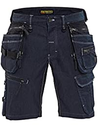 Blaklader X1900 Stretch Craftsman Work Shorts 199211418999 Navy Blue/Black